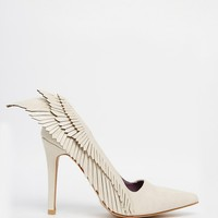 YRU Angyl Wing Heeled Shoes