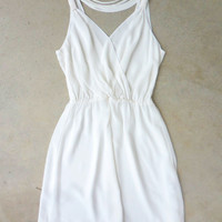 .Summer White Party Dress [7340] - $29.40 : Feminine, Bohemian, & Vintage Inspired Clothing at Affordable Prices, deloom
