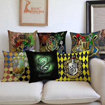 Europe and the United States film Decorative pillows cushion Harry Potter Pillow cushions Decor christmas decorations for home