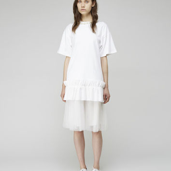 Gathered Tulle Skirt by Simone Rocha