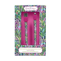 iPhone 5/5s/5c Charging Cord in Hot Spot by Lilly Pulitzer
