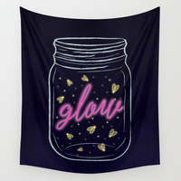 Glow Wall Tapestry by Noonday Design