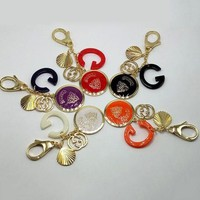 GUCCI Woman Fashion Plated Multicolor Bag Ornaments Key Buckle