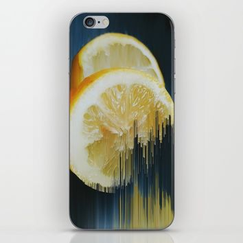 Lemony Good Glitch iPhone & iPod Skin by Ducky B