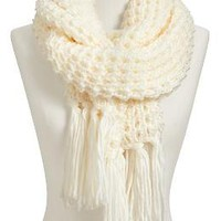 Women's Waffle-Knit Sweater Scarves | Old Navy