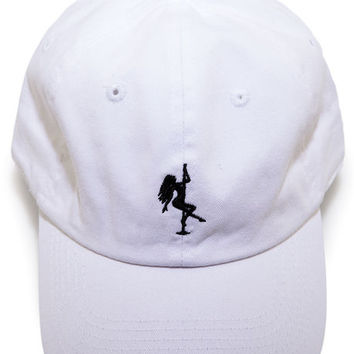The Pole Sport Strapback Hat in White