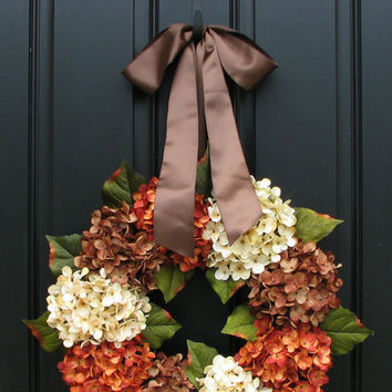 Fall Wreaths, Autumn Wreaths, WREATHS, Shabby Chic Fall Decor, Year Round Wreaths, Fall Decor, Front Door Wreaths