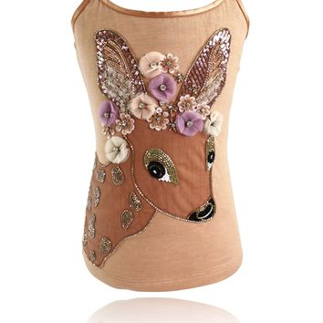 DOLLY by Le Petit Tom ® FAWN BAMBI top brown