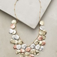 Aerarium Bib Necklace by Anthropologie in Copper Size: One Size Necklaces