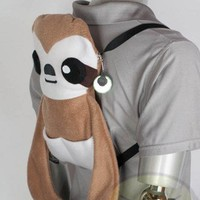 Cute Sloth Backpack, Handmade
