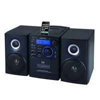 Supersonic MP3-CD Player with iPod Docking, USB-SD-AUX Inputs, Cassette Recorder & AM-FM Radio