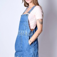 ECH Vintage Stitched Baggy Overalls
