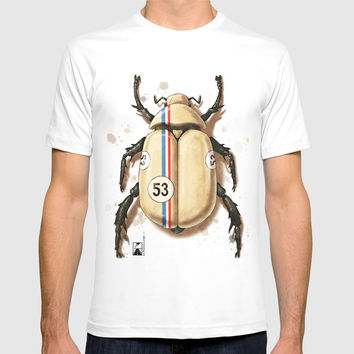 Herbie the Love Bug T-shirt by andrea_longhi