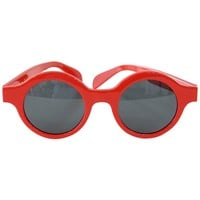 Louis Vuitton Supreme X Ltd Ed Round Red Downtown Sunglasses