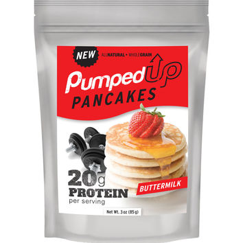 Sample Size - 3 oz Protein Pancake Mix - Buttermilk