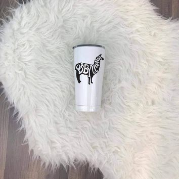 Baby Llama UV Printed SIC (Seriously Ice Cold) Tumbler