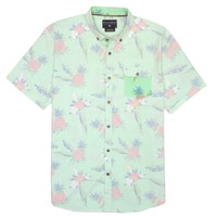 Billabong Boys' (2-7) Kids' Pineapples Woven Shirt Mint