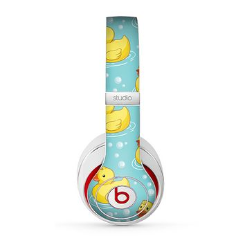 The Cute Rubber Duckees Skin for the Beats by Dre Studio (2013+ Version) Headphones
