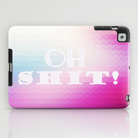 oh shit ! iPad Case by Nika