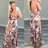 Floral Fields Maxi Dress