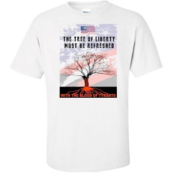 Tree of Liberty T Shirt USA