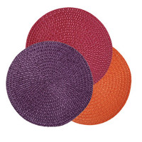 "Bulk The Home Collection Round Fall Fling Placemats, 15"" at DollarTree.com"