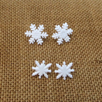 Christmas Snowflake Earrings Holiday White Snowflake Earrings Holiday Winter Jewelry Stocking Stuffer CELEBRATION SALE! Buy 1 Get 2 Free