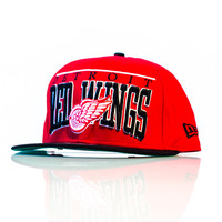 New Era Detroit Red Wings Arch Snapback - Red/Black