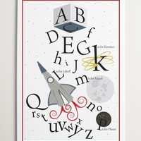 BRIKA.com | Space Alphabet Print | A Well-Crafted Life