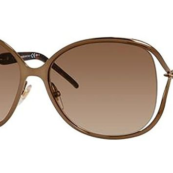 Gucci Sunglasses - 4250/N/S / Frame: Bronze Lens: Brown Gradient