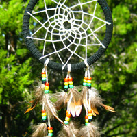 Mini Rasta Dreamcatcher