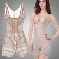 Women Summer Style Body Shapers Shaping Slim Underwear Waist Training Corsets Bu