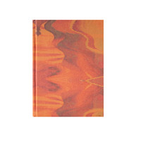 A5 Antelope Canyon Fabric Covered Notebook