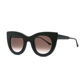 Cheeky Cat-Eye Sunglasses, Black - Thierry Lasry