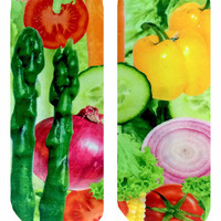 Veggies Ankle Socks
