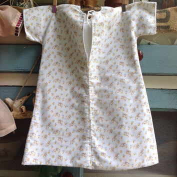 1950s infant robe pajamas/ vintage baby clothes