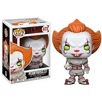 Stephen King's It Pennywise Clown Yellow Eyes Pop! Vinyl Figure #472