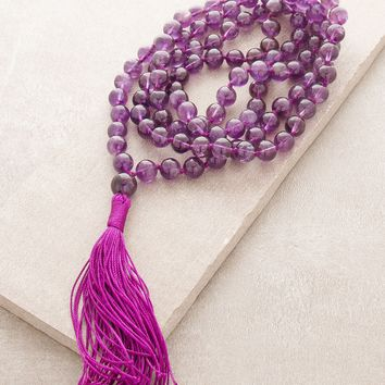 High-Energy Amethyst Mala