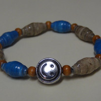 Paper Bead Bracelet Inspired by Riker Lynch