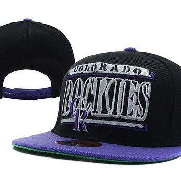 Colorado Rockies New Era MLB 9FIFTY Cap Black-Blue