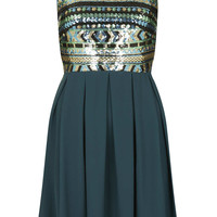 **Sarah Green Dress by TFNC - New In This Week - New In - Topshop USA