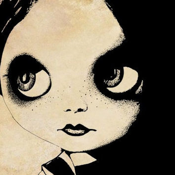blythe doll face png clip art eyes lips gothic dolly Digital Image Download digi stamp printable graphics toy clip art graphics