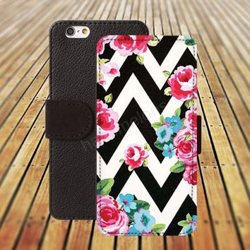 iphone 5 5s case chevron flowers dream colorful lavender iphone 4/ 4s iPhone 6 6 Plus iphone 5C Wallet Case,iPhone 5 Case,Cover,Cases colorful pattern L160