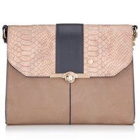 Lily Multi Compartment Across Body Bag | Pink | Accessorize
