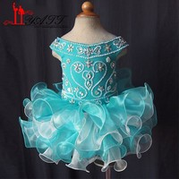 Ritzee Pageant Dresses Crystals Organza