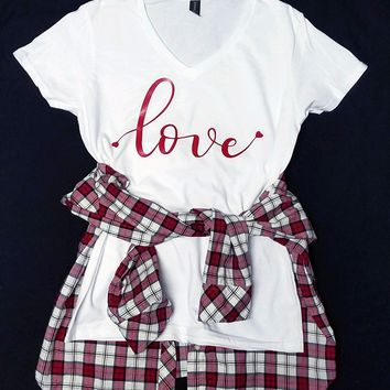 Love Me Always Graphic Tee