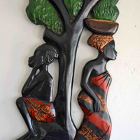 African Art, African American Art, Mother Africa, Afrocentric Art, Authentic African Art, African Woman, Tribal Art, Ethnic Art,