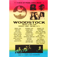 Woodstock - Domestic Poster