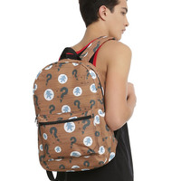 Disney Gravity Falls Wood Panel Backpack