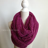 Lace Knit Scarves